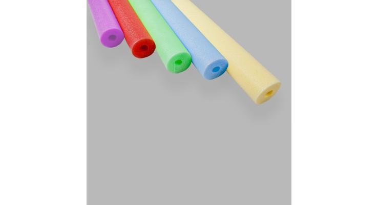 Tubo Flotación Pack 65mm colores / 9ud