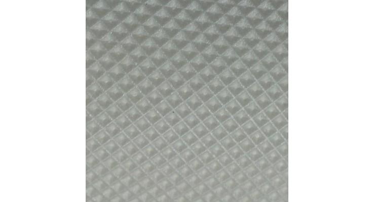 Lamina de Polietileno Reticulado 2mm de espesor en formato gofrado piramidal
